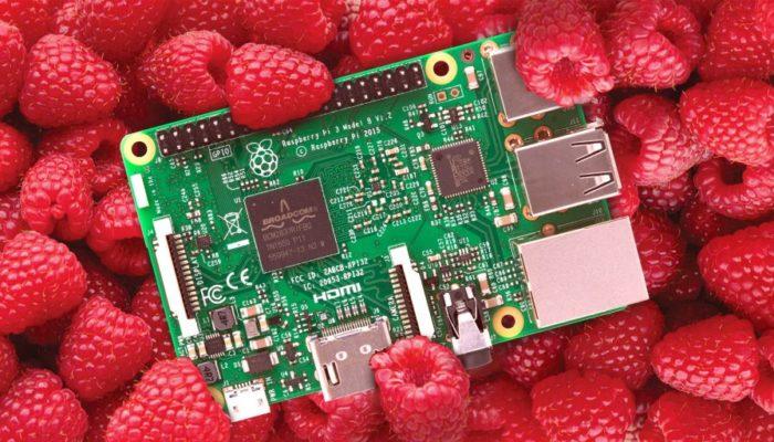 Микрокомпьютер Raspberry
