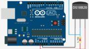 Arduino и цифровой датчик температуры DS18B20