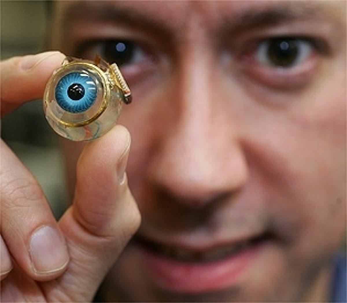Бионический протез глаза