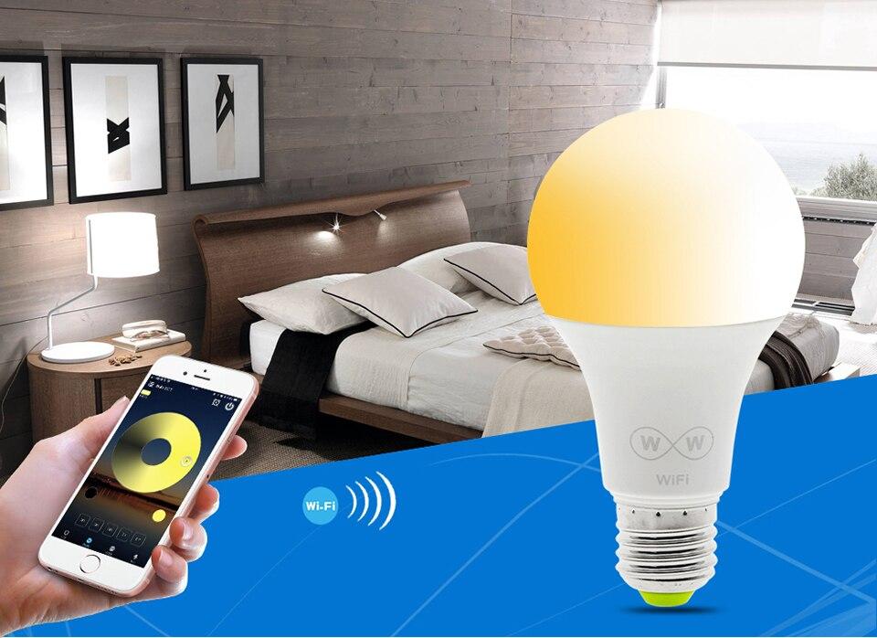 Умные Wi-Fi лампочки