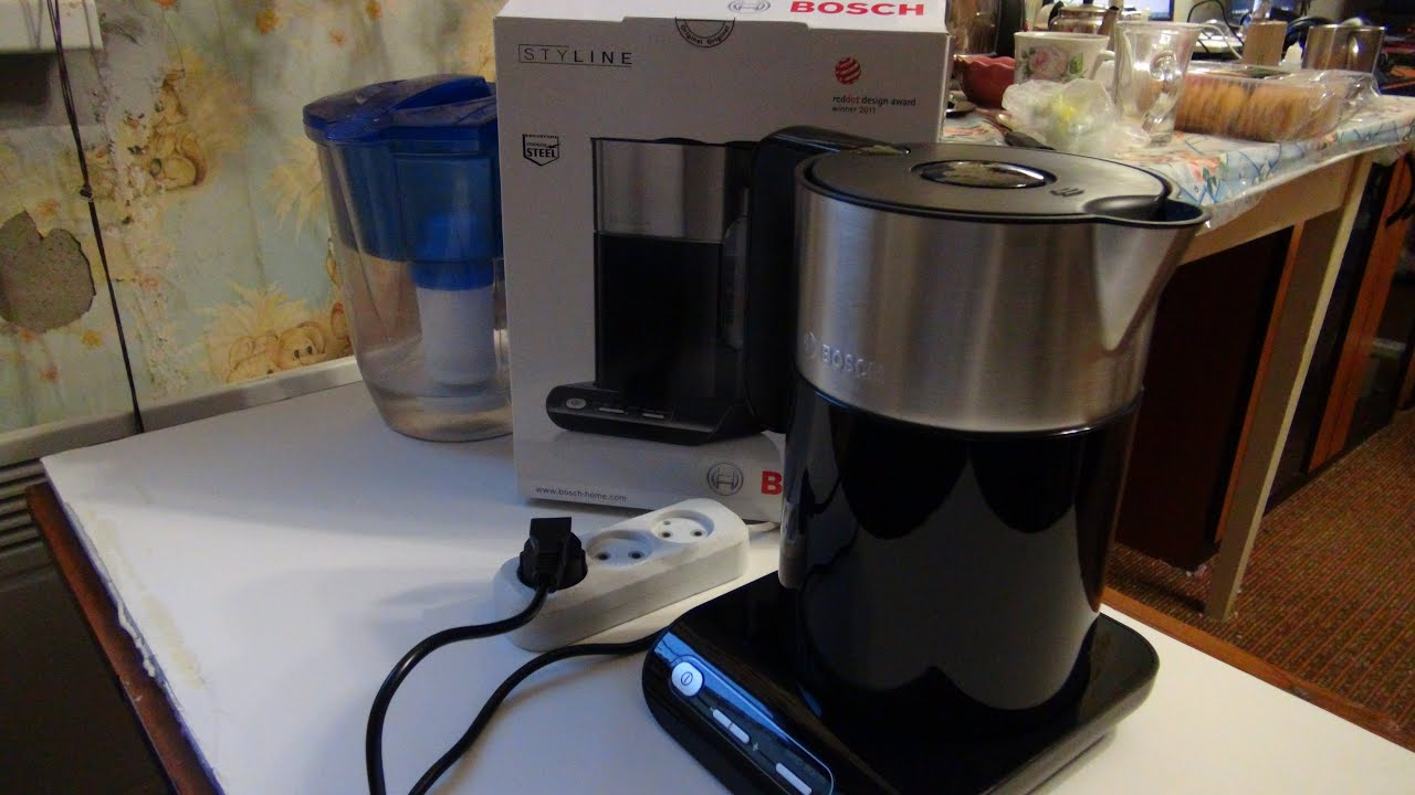 Умный чайник Bosch TWK861P3RU