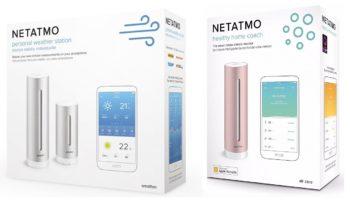 Устройства Netatmo в умном доме