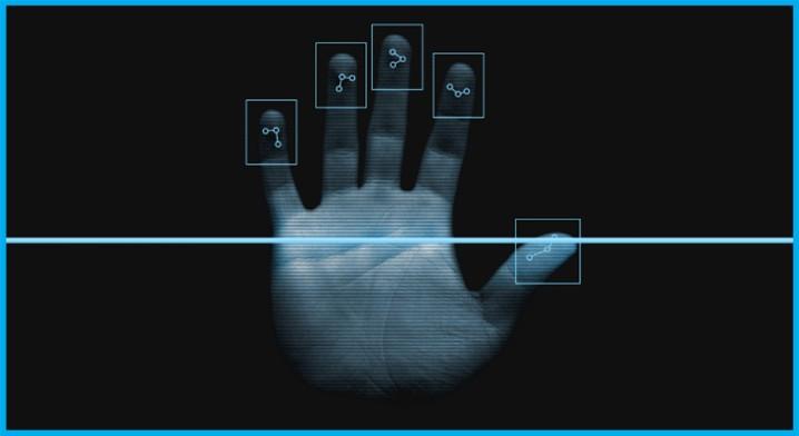 Биометрический замок по отпечаткам пальцев