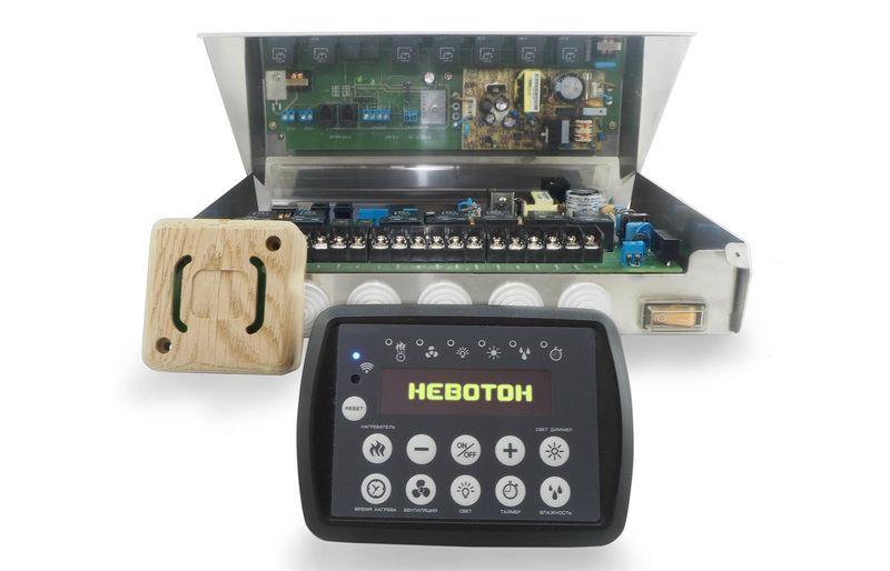 Оборудование для контроля умной бани Невотон