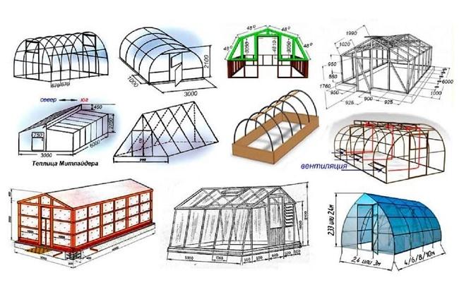 Варианты конструкций умных теплиц