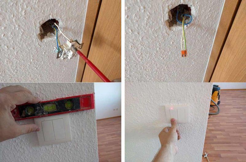 Монтаж дистанционного выключателя освещения