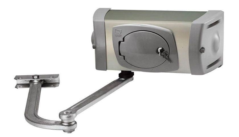 Рычажный привод автоматических ворот