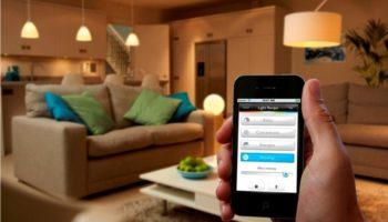 Управление светом с телефона