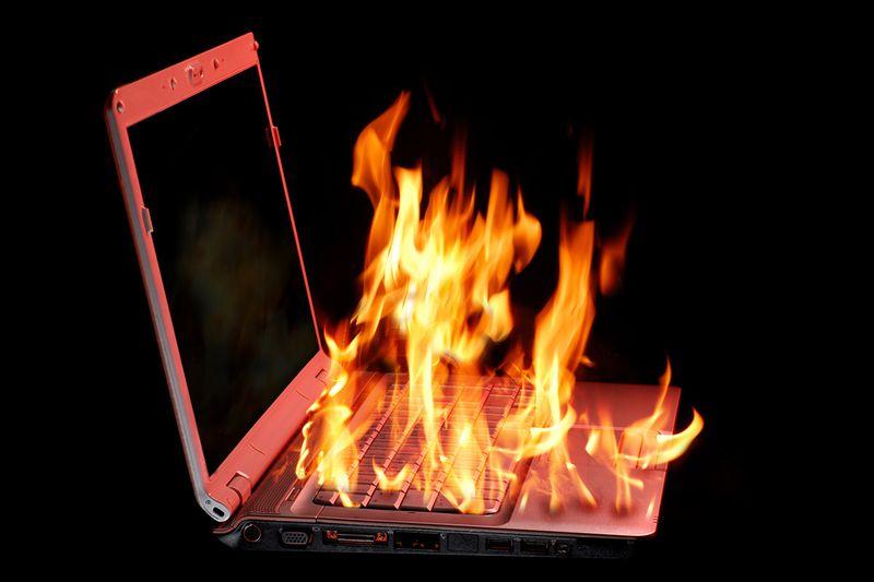 Как охладить ноутбук от перегрева