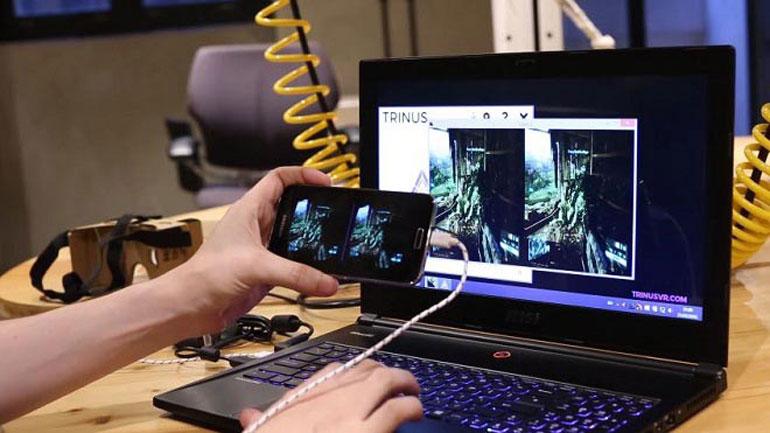 Настройка VR-очков