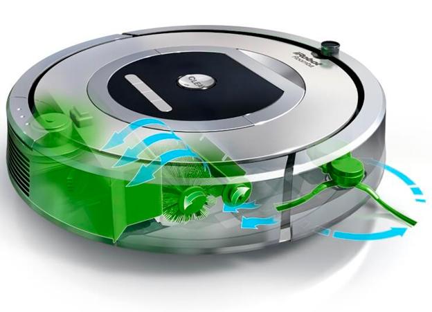 Робот пылесос для сухой уборки