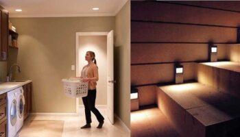 Как правильно подключить датчик движения к светильнику: схемы монтажа