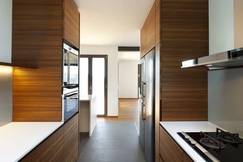 Типы планировок умной кухни