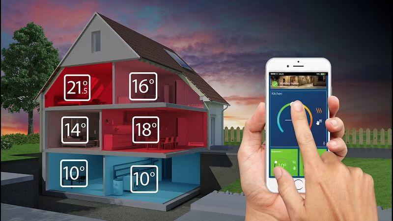 система управления домашним отоплением