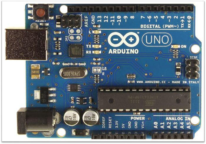 Arduino UNO лицом