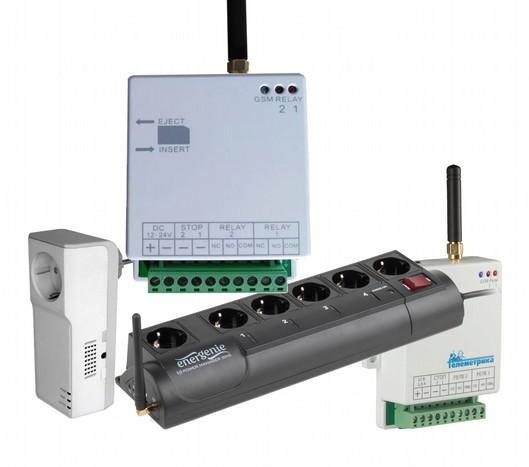 Некоторые виды GSM устройств управления