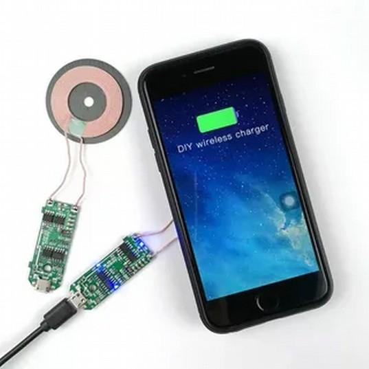 самодельное беспроводное зарядное устройство