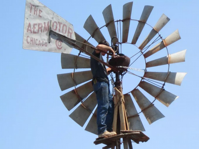 Обслуживание самодельного ветряка