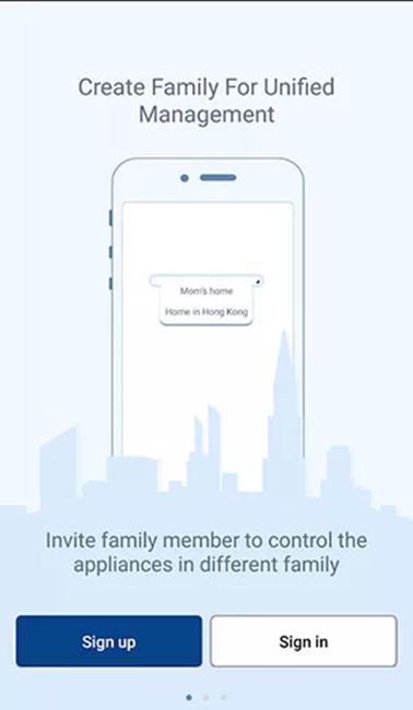 управления кондиционером с телефона iOS