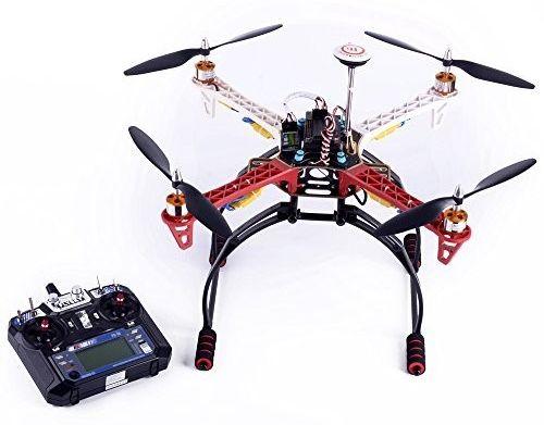 Один из сборных дронов