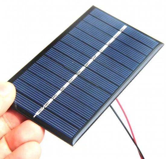 Один из модулей солнечной батареи