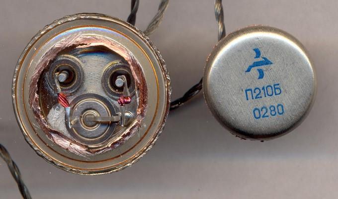 PN-переход внутри транзистора