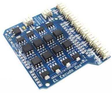 ICStation 8 Channel EL Escudo Dos Shield for Arduino