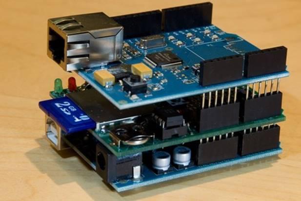 Сборка Arduino с несколькими shield